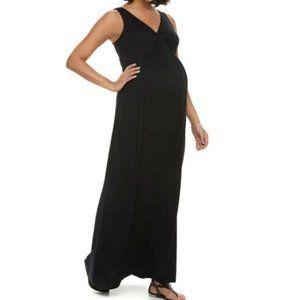 Maternity Dress - a:glow Knot Maxi Dress